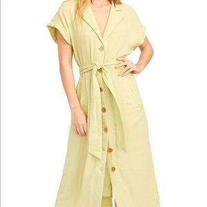 Free People Trench Dress